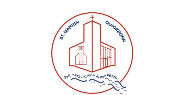 Unter diesem gemeinsamen Logo sind die vier Stände der katholischen Kirchengemeinde zu finden.