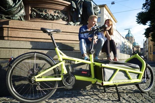 Reisen mit dem Cargo e-Bike Load von Riese & Müller