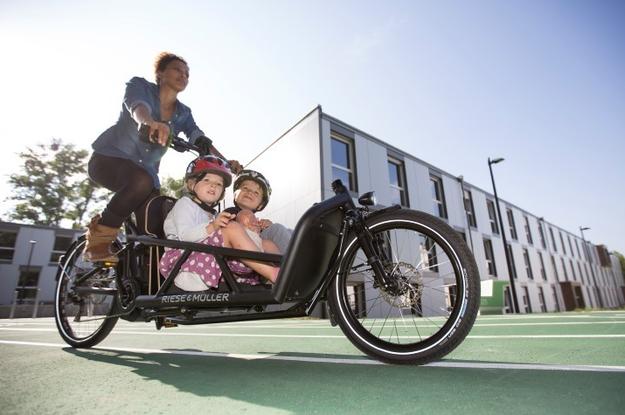 e-Bikes und Mobilität für junge Familien