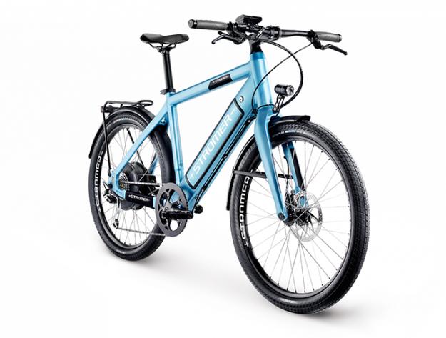 Stromer ST1: Limited Edition in blau verfügbar bei e-motion