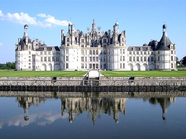 「フランスノワール地方のシャンボール城」 ⒸThomas Steiner