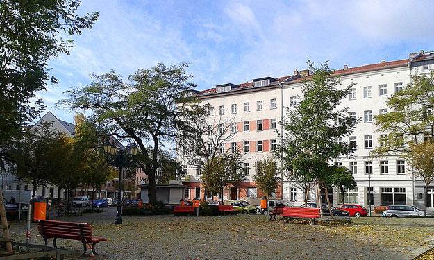 Tuchollaplatz Victoriastadt - Berlin Lichtenberg