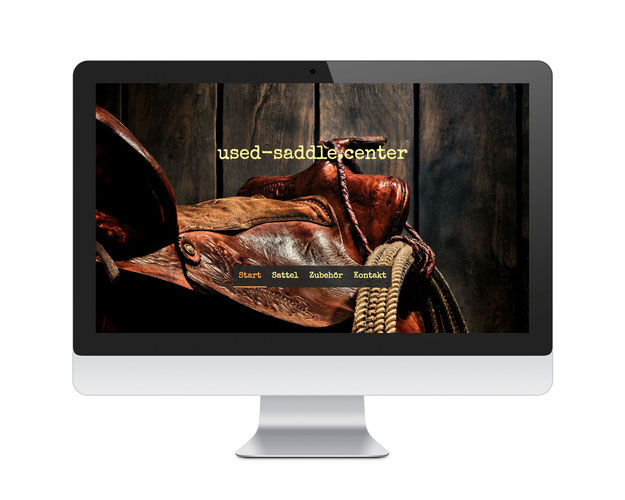used-saddle.center Website Projekt MAXSELLS Online Agentur