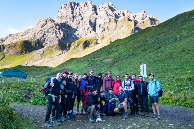 """Unser tolles Team """"Gipfelglück"""" - jede/r Einzelne etwas Besonderes"""
