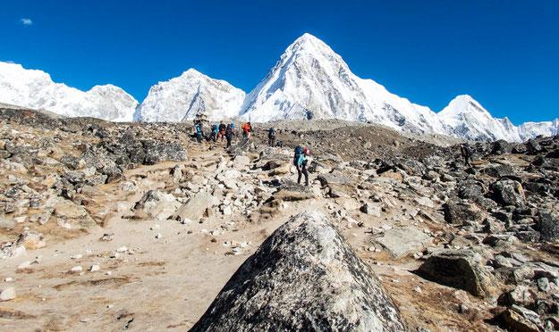 Einfach unglaublich, dieses Bergpanorama