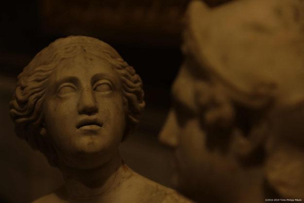Licht als Gestaltungsmittel in der Galleria Borghese, Rom. Bild: Timo Mäule.