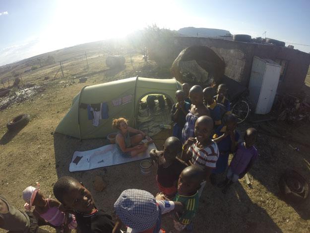 Zu Gast in Lesotho