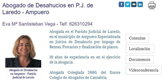Juicio de Desahucio de una Vivienda con Plaza de Garaje en laredo por Impago de la Renta