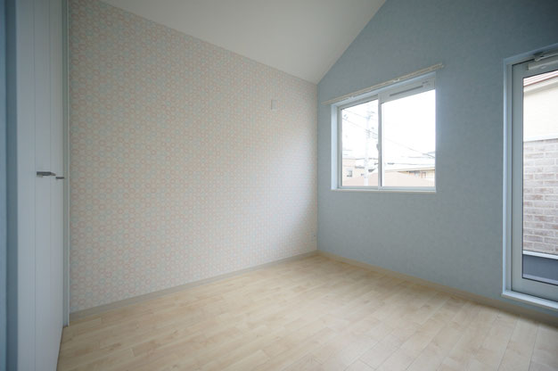 (見るからに)子ども部屋のイメージです。