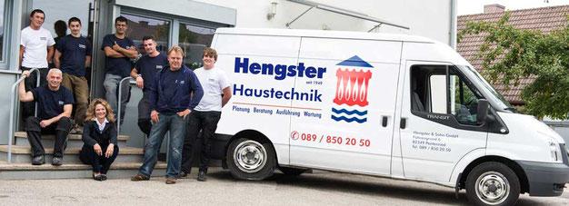 Das Team von Hengster Haustechnik im Würmtal