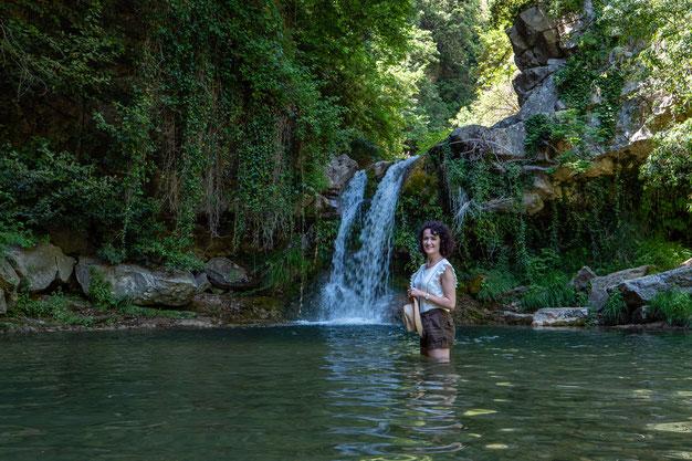 vasques naturelles se baigner