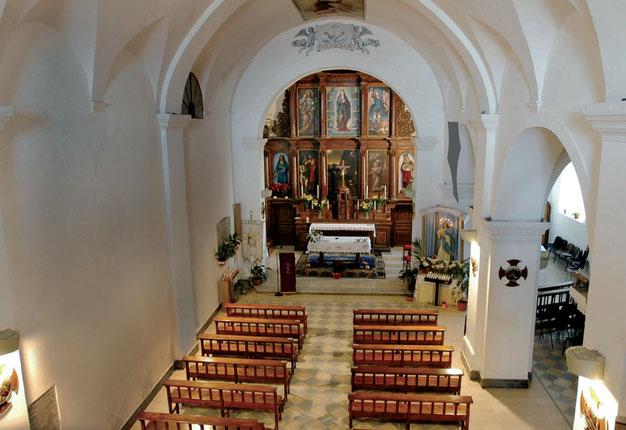 chiesa del convento dei Cappuccini di  Sant'Elia a Pianisi