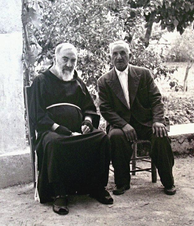 Padre Pio e il fratello Michele Forgione