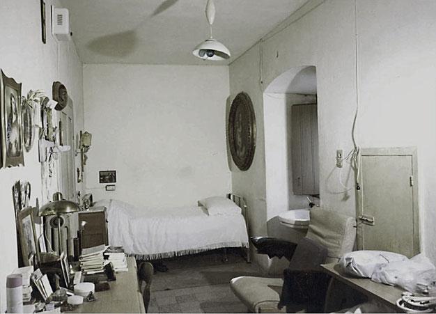 Convento S. Giovanni Rotondo cella n. 1 di Padre Pio