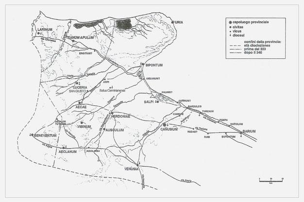 Civitates e vici Apulia tardoantica
