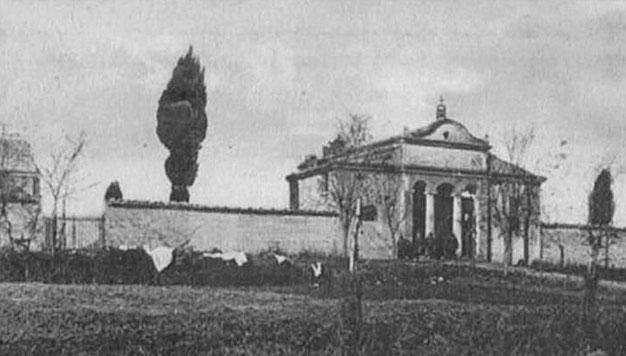 Cimitero di Casacalenda primi Novecento