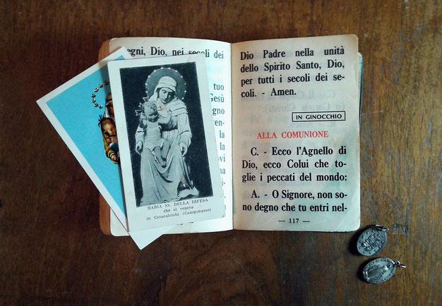 Libro di preghiere di metà Novecento