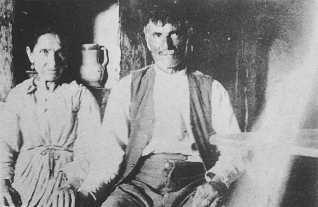 Zi' Grazio Forgione e mamma Peppa genitori di Padre Pio da Pietrelcina