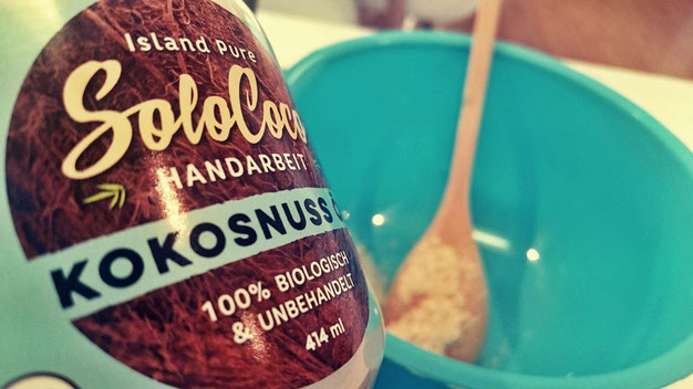 Fairtrade Kokosöl, backen, Rezepte, Kokosmehl, handarbeit, unbehandelt, solococo, malufair, cleaneating