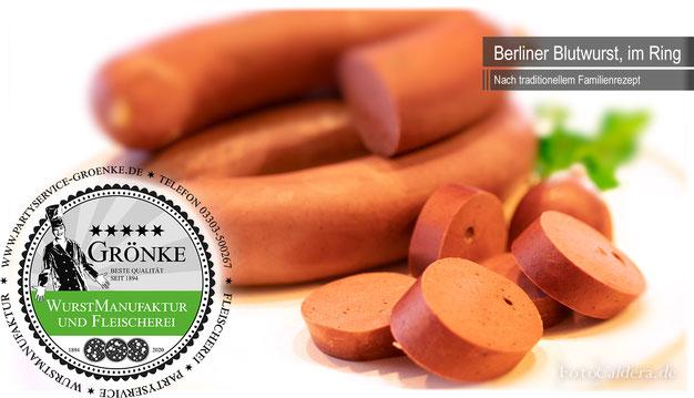 Bacon & Cheese Grillwurst aus der Wurstmanufaktur Grönke