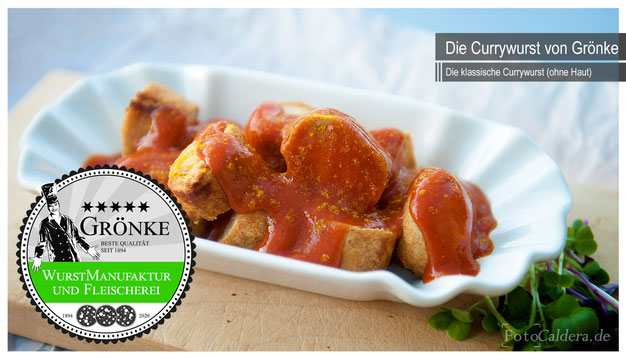 Original Currywurst vom Fleischermeister