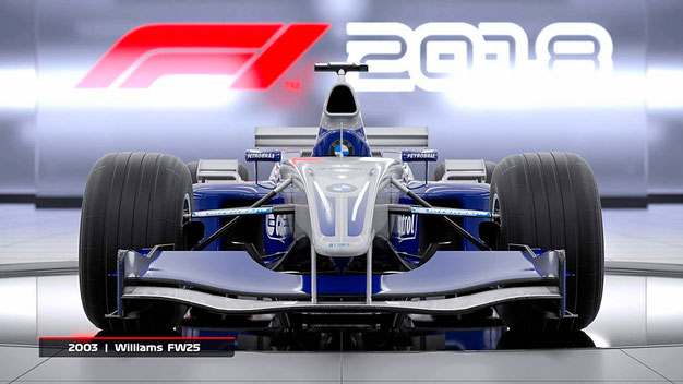 F1 2018: BMW - Williams FW25