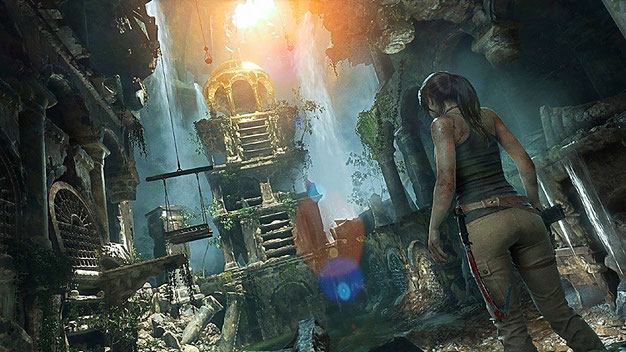 Xbox One Spiel: Rise of the Tomb Raider