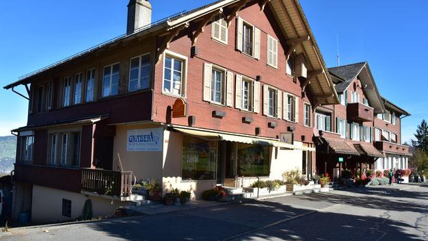 Bäckerei Graber - Laden und Bäckerei in Aeschi b. Spiez - Kanton Bern