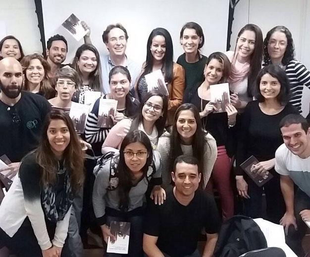 Corso e lancio dell'edizione brasiliana del libro Global presso il Crie - Centro de Referência em Inteligência Empresarial a Rio De Janeiro