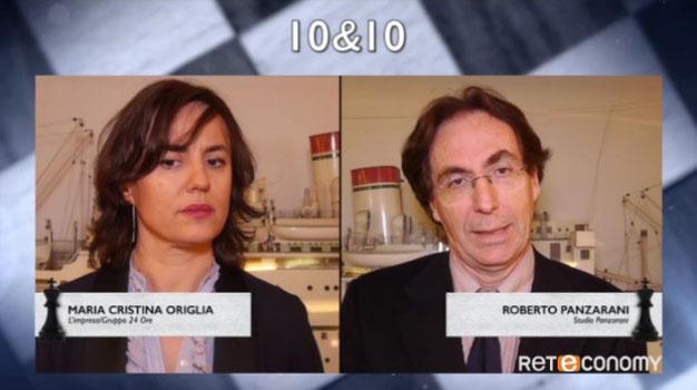 Su Reteconomy, nella rubrica 10&10, all'interno di House of Leaders a cura di Enzo Argante,  Maria Cristina Origlia intervista Roberto Panzarani