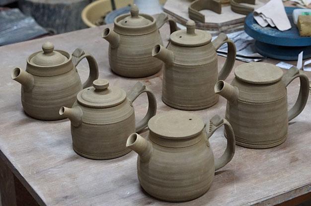 仲本律子 R工房 女性陶芸家 土鍋作品 ブログ 陶器 土鍋ポット