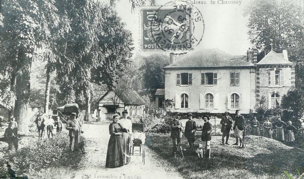 Manoir de Chaussoy - ouverture de la chasse - Somme (80)