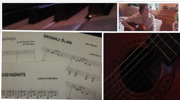 Welt gitarre der fabelhafte die amelie noten Klaviernoten Die