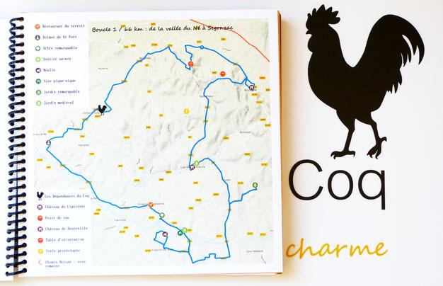 livret d'accueil gîte Les Dépendances du Coq