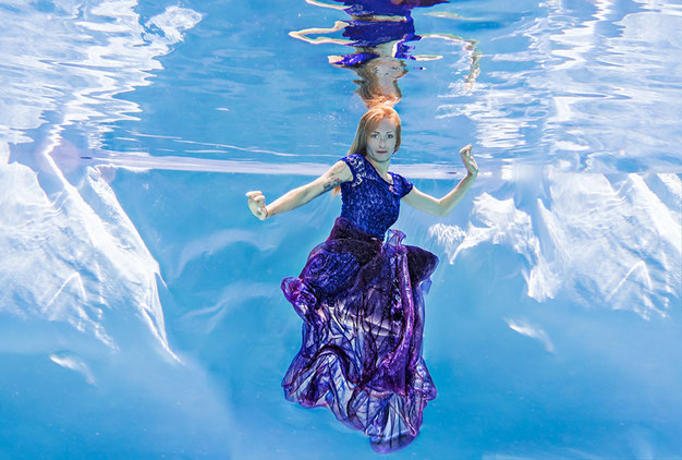Auch Unterwasser ist en entspanntes Shooting möglich