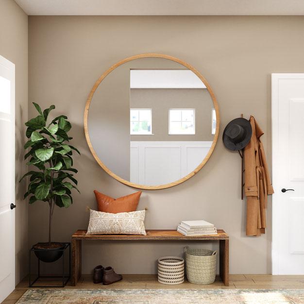 De voordelen van een spiegel in je interieur