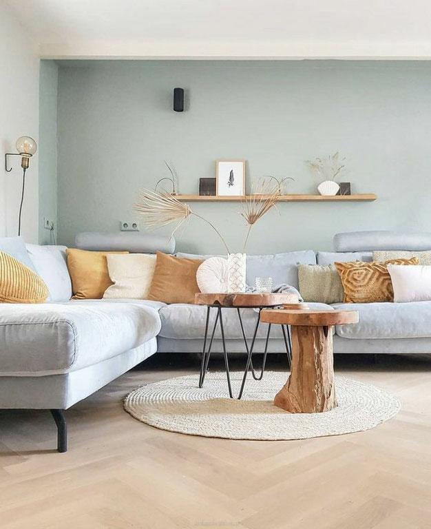 Scandinavische woonkamer - Sober en minimalistisch wonen