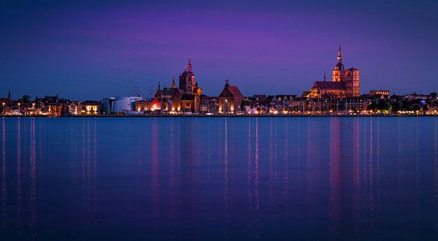 Landschaftsfotografie Deutschland, Insel Rügen, Ostsee, Blick nach Stralsund