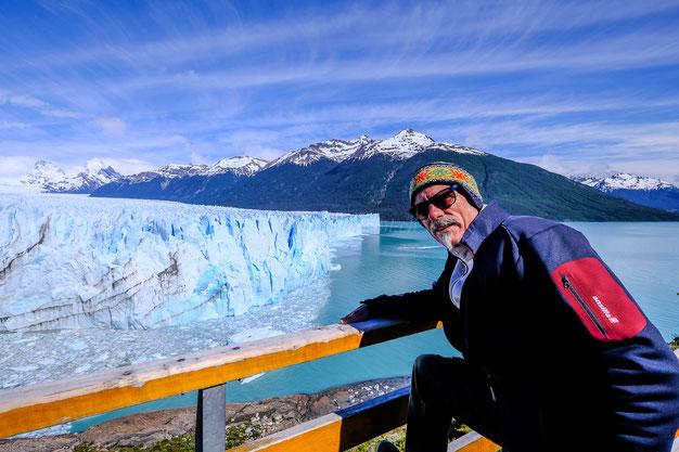 Pepamobil am Perito Moreno