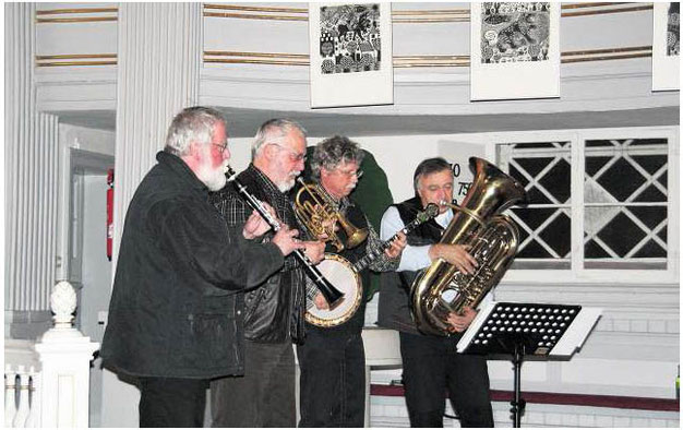 Fisherman´s Band Jazz Kulturgottesdienst Mezz Mezzrow