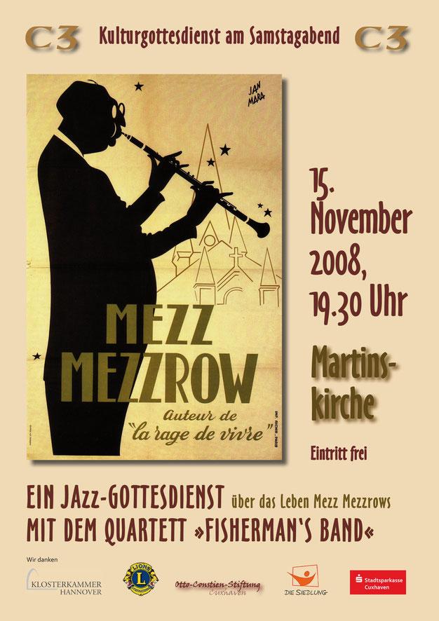 plakat jazz mezz mezzrow kulturgottesdienst
