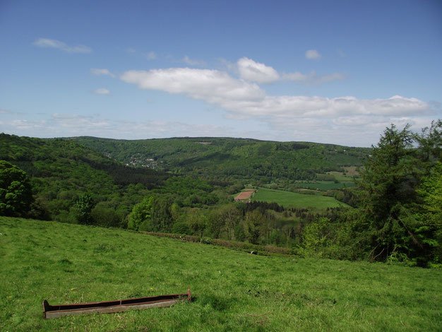 St Briavels, Forest of Dean, England, Wales border.