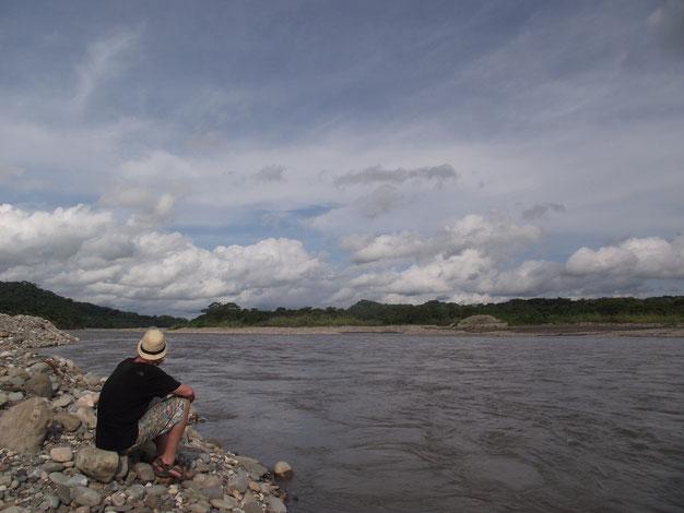 Villa Tunari, river, Bolivia