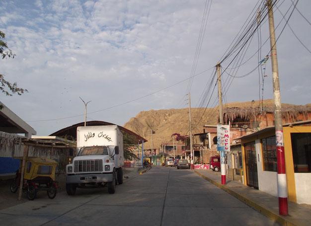 Cabo Blanco town
