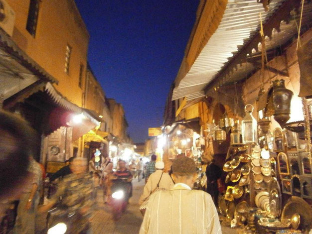 Souks, Marrakesh, Morocco, Africa