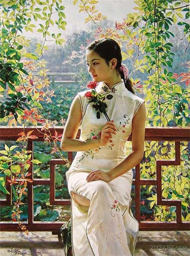 Guan ZeJu Painting