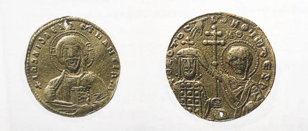 Goldmünze Kaiser Johannes I. Tzimiskes