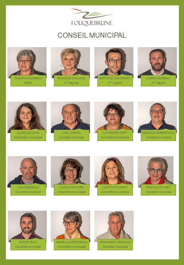Conseil municipal de Fouquebrune