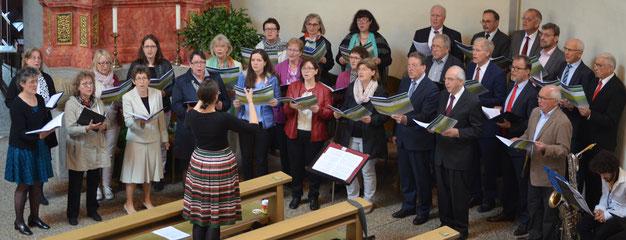 """Ostern 2017  Aufführung der """"Mainzer Messe"""""""