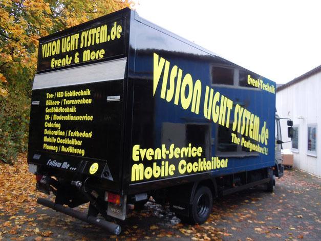 Beschrifteter 7,5 t für Vision Light System